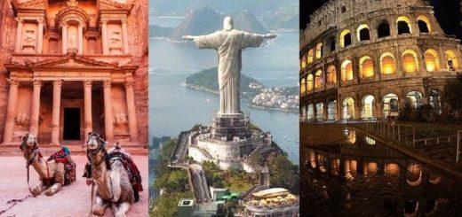 Le sette meraviglie del mondo moderno e antico
